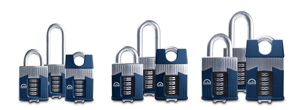 Squire Warrior combination padlock range