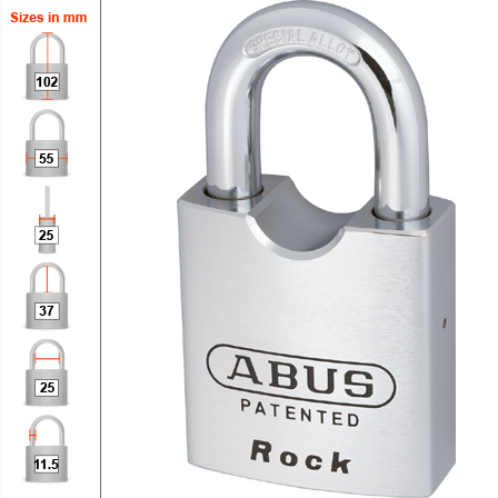 Abus 83/55 High Security Padlock