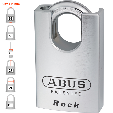 Abus 83-55CS High Security Padlock