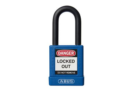 Abus 74-40 Lockout Padlock - Blue