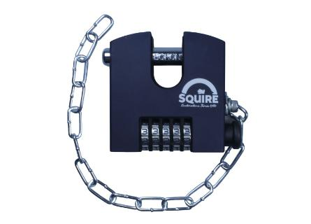 Squire SHCB75 Combination Padlock - Chain - 75mm