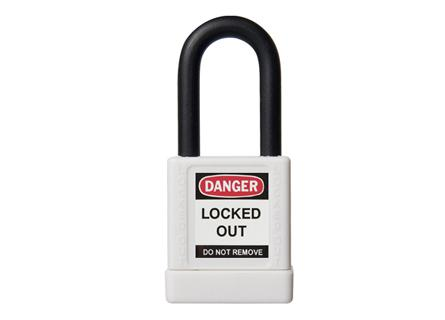 Abus 74-40 Lockout Padlock - White