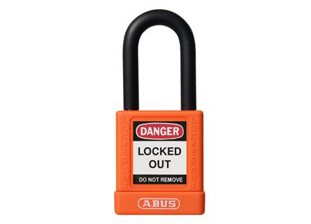Abus 74/40 Lockout Padlock - Orange