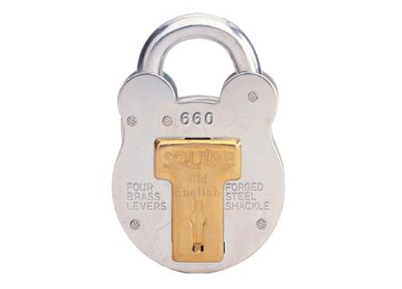 Squire 660 Old English Padlock